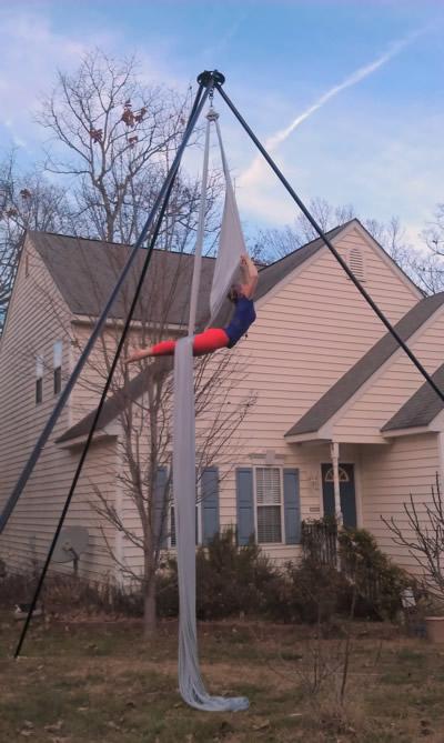 Suspendulum Aerial Dance Rig